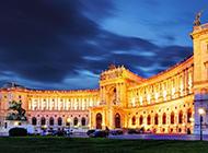 世界音乐之都维也纳自然风光图片