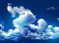 蓝天白云壁纸清新而迷人