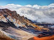 唯美自然云雾山脉高清风景壁纸