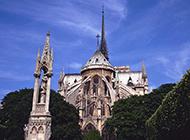 巴黎古建筑风景图片经典美丽