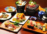 日式海鲜寿司料理图片鲜味无穷