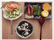 营养早餐图片简单又丰盛