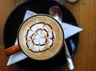 拉花咖啡提神下午茶