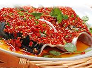 川菜剁椒鱼头图片味香鲜美