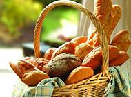 法式面包棍图片麦香浓郁