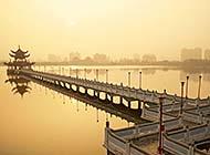 杭州西湖唯美人间仙境美景图