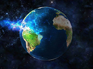 蓝色地球背景素材耀人夺目