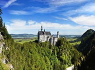 德国巴伐利亚新天鹅堡最美的风景图片