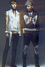 韩国双胞胎组合Tasty视觉写真大片