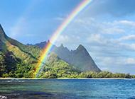 美国夏威夷海岛风景图片优美醉人