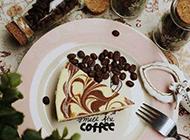 英式下午茶甜蜜入心的咖啡和蛋糕