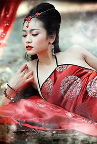 美女人体艺术演绎中国文化