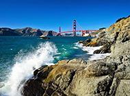 大自然海浪风景壁纸赏析