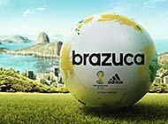 世界杯专用足球精美特写高清组图