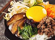 韩国美食石锅拌米饭图片满口鲜香