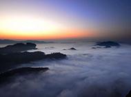 超唯美武夷山云海风景壁纸欣赏