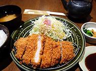日本炸猪排小吃图片香酥美味