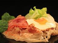 台湾风味小吃手抓饼图片