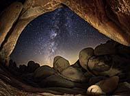 璀璨星空唯美银河系浪漫风景壁纸