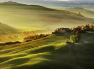 绿色草地清新大自然风景图片壁纸