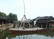 浙江乌镇东栅旅游胜地风景图片