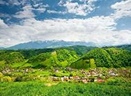 绿色高清自然风景宽屏壁纸
