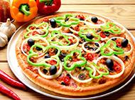 意大利披萨图片风味浓郁