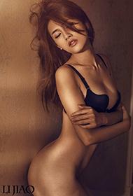 混血美女郑伊Summer顶级人体艺术摄影图片