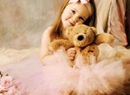 甜美可爱的欧美小公主唯美图片欣赏