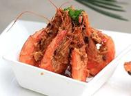 海鲜美食油焖大虾图片极致惹味