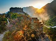 中国名胜古迹北京长城风景图片