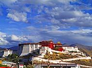 西藏布达拉宫唯美梦幻风景壁纸