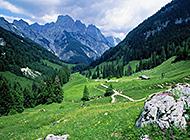 青葱山水自然风光美景图片