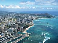热情似火的夏威夷岛屿高清图片