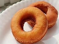 诱人的甜甜圈制作图片