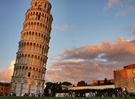 经典建筑设计意大利比萨斜塔图片