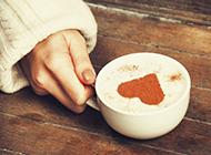 浓醇甜蜜的花式情侣咖啡图片素材
