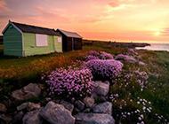 清晨大自然山水风景图片壁纸