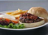迷你西式快餐牛肉汉堡图片