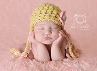 熟睡中的可爱宝宝温馨图片