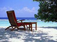 小清新夏天清凉沙滩电脑壁纸