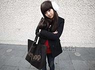 韩国人气红人具银恩典甜美外拍搭配