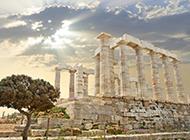 古希腊建筑高清风景图片欣赏