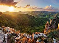 清晨第一缕阳光唯美风景图片大全壁纸