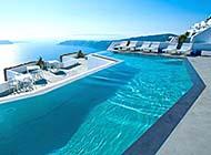 世界最美胜地圣托里尼岛高清图片
