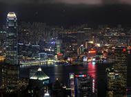城市浪漫璀璨夜景高清壁纸