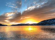 异国山水浪漫挪威风景图片高清壁纸