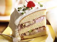香甜可口的水果蛋糕高清图片