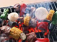 富含秋意的鲜香美食烧烤图片