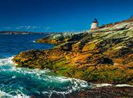 欧洲威尔士海岛靓丽风景图片壁纸